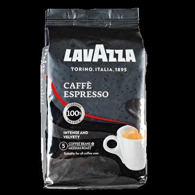 кофе LAVAZZA CAFFE ESPRESSO 1 кг зерно 1 уп.х 6 шт.