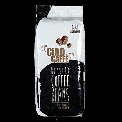 кофе CIAO CAFFE NERO SUPRREME 1 кг зерно 1уп.х 6 шт.