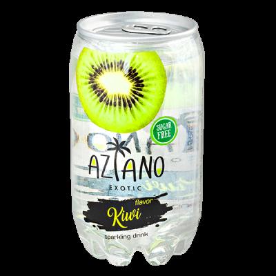 напиток AZIANO Kiwi 350 мл  П/Б 1 уп.х 24 шт.