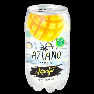 напиток AZIANO Mango 350 мл  П/Б 1 уп.х 24 шт.
