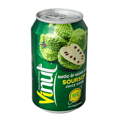напиток VINUT Soursop 330 мл  Ж/Б 1 уп.х 24 шт.