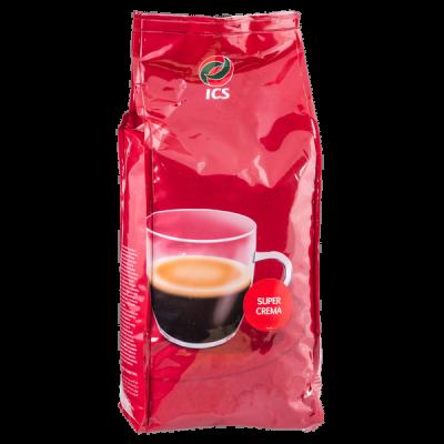 кофе ICS SUPER CREMA 1 кг зерно 1 уп.х 8 шт.