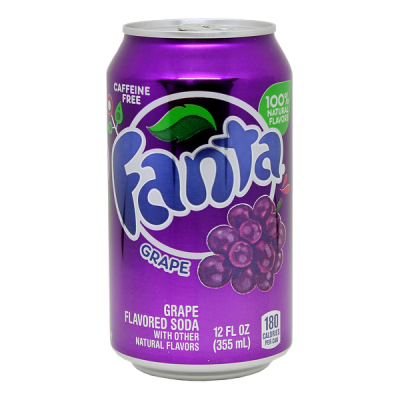 напиток FANTA GRAPE 355 МЛ Ж/Б