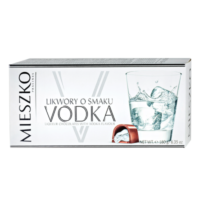 конфеты MIESZKO VODKA 180 г 1 уп.х 12 шт.