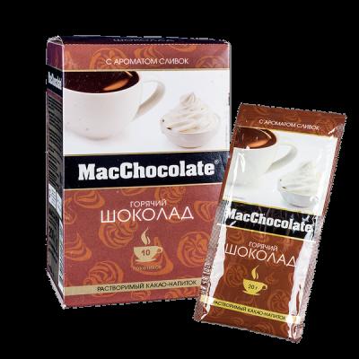 напиток Какао Макшоколад Сливки 20 г 1 уп.х 10 шт.