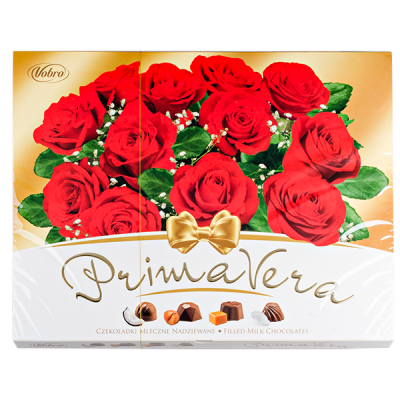 конфеты VOBRO PRIMAVERA 209 г 1 уп.х 12 шт.