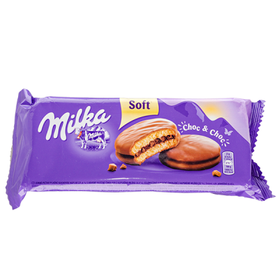 печенье Милка Choc & Choc 150 г 1 уп.х 12 шт.