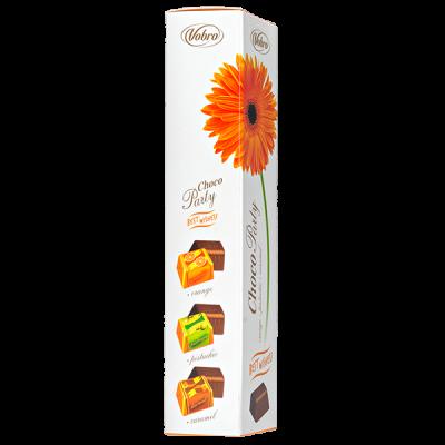 конфеты VOBRO Choco Party BEST WISHES 75 г 1 уп.х 16 шт.