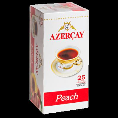 чай АЗЕРЧАЙ Персик 25 пакетиков с конвертом 1 уп.х 24 шт.