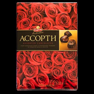 конфеты Спартак Ассорти 171 г 1 уп.х 8 шт.
