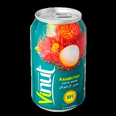 напиток VINUT Rambutan 330 мл  Ж/Б 1 уп.х 24 шт.