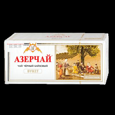чай АЗЕРЧАЙ БУКЕТ 25 пакетиков 1 уп.х 24 шт.