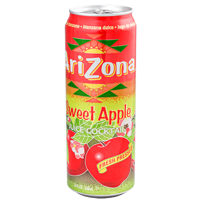 напиток ARIZONA Sweet Apple Juice Cocktail 680 мл  Ж/Б 1 уп.х 24 шт.