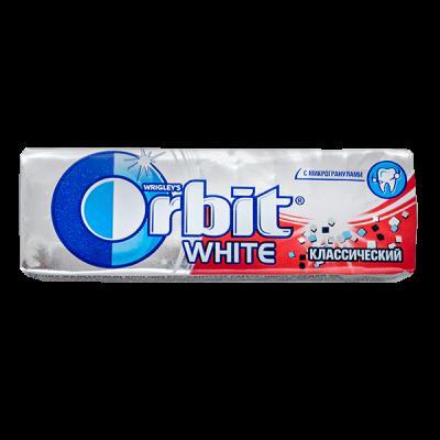 жевательная резинка Orbit WHITE классический 13,6 г