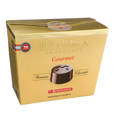конфеты BUCHERON GOURMET с Фундуком 175 г 1уп.х 6 шт.