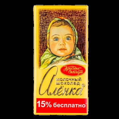шоколад Аленка Молочная 200 г 1уп.х 18шт.