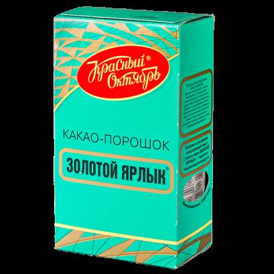 какао-порошок Золотой Ярлык 100 г 1 уп.х 18 шт.
