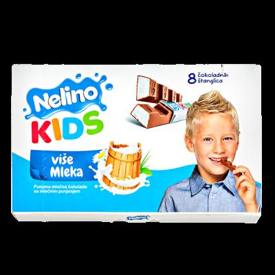 шоколад Nelino KIDS Молочный 100 г 1уп.х 20шт