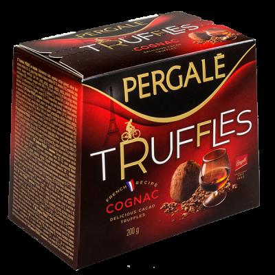 конфеты PERGALE TRUFFLES COGNAC 200 г 1 уп. х 16 шт.