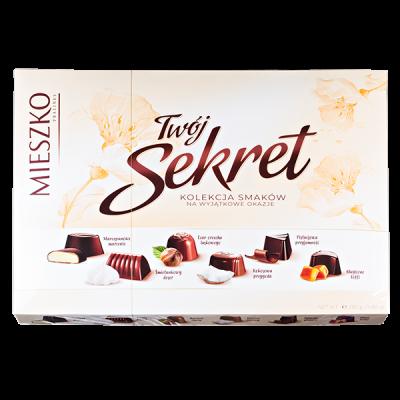 конфеты MIESZKO TWOJ SEKRET 280 г 1 уп.х 8 шт.