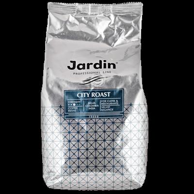 кофе ЖАРДИН CITY ROAST 1 кг зерно 1 уп.х 6 шт.