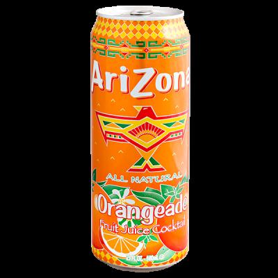 напиток ARIZONA Orangeade 680 мл  Ж/Б 1 уп.х 24 шт.