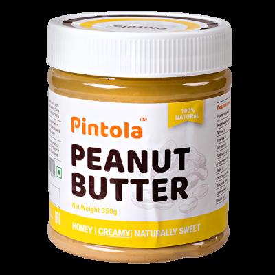 арахисовая паста PINTOLA Honey Creamy 350 г 1 уп.х 12 шт.