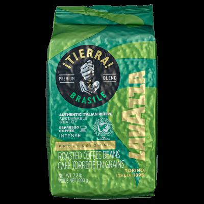 кофе LAVAZZA TIERRA BRASILE 1 кг зерно 1 уп.х 6 шт.