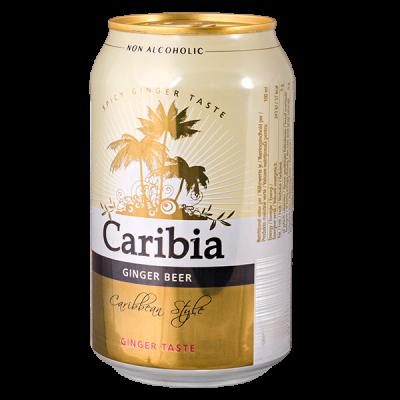 напиток CARIBIA Ginger Beer 330 мл ж/б 1 уп.х 24 шт.