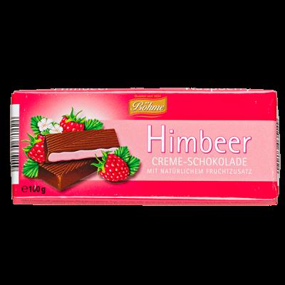 шоколад BOHME Himbeer темный с малиновой начинкой 100 г 1уп.х 20шт