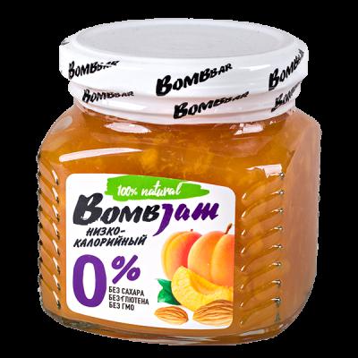 джем BombJam Абрикос-Миндаль 250 г 1 уп.х 6 шт.