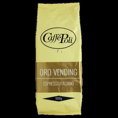 кофе Caffe Polli ORO VENDING 1 кг зерно 1 уп.х 10 шт.