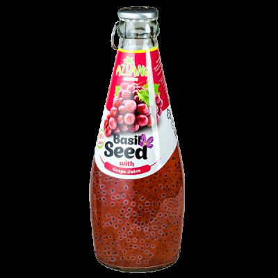 напиток AZIANO Basil Seed Grape 290 мл СТ/Б 1 уп.х 24 шт.