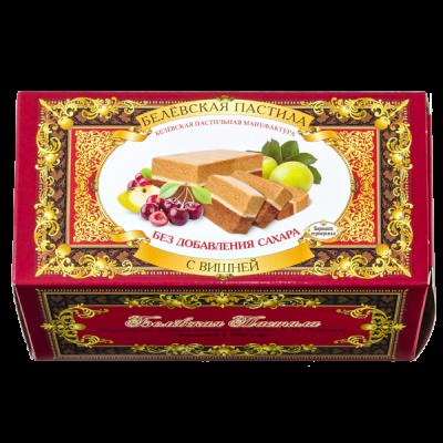 Белевская пастила без сахара с вишней 100 г, 1 уп. х 26 шт.