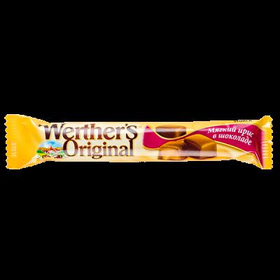 ирис Werther's Original мягкий в шоколаде 45 г 1 уп х 24 шт.