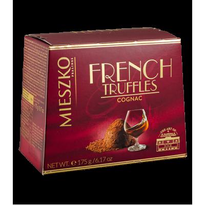 конфеты MIESZKO CLASSIC TRUFFLES cо вкусом коньяка 175 г 1 уп. х 16 шт.