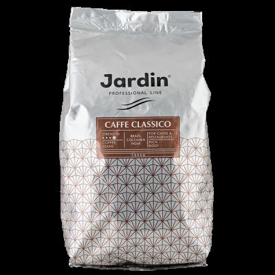 кофе ЖАРДИН КАФЕ КЛАССИКО 1 кг зерно 1 уп.х 6 шт.