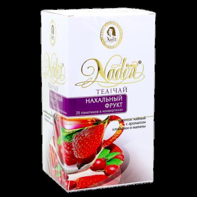 чай NADIN 'Нахальный фрукт' 25 пакетиков 1 уп.х 12 шт.