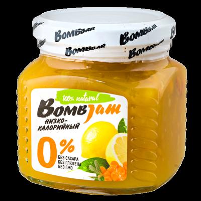 джем BombJam Облепиха-Лимон 250 г 1 уп.х 6 шт.
