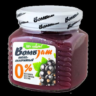 джем BombJam Черная Смородина 250 г 1 уп.х 6 шт.