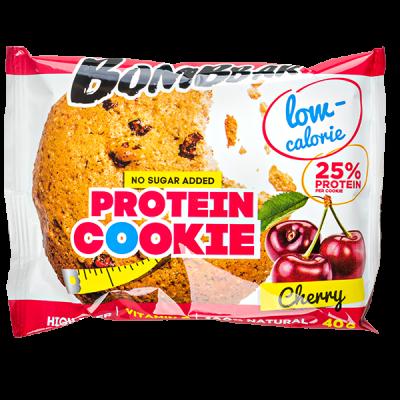 Печенье Bombbar протеиновое Cherry 40 г 1 уп.х 12 шт.