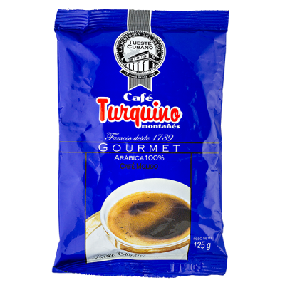 кофе TURQUINO 125 г молотый 1 уп.х 16 шт.