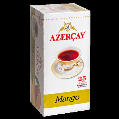 чай АЗЕРЧАЙ Манго 25 пакетиков с конвертом 1 уп.х 24 шт.