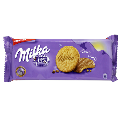 печенье Милка Choco Grain 168 г 1 уп.х 16 шт.