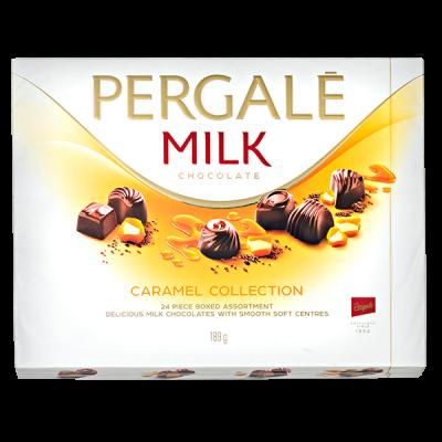 конфеты PERGALE CARAMEL COLLECTION 189 г 1 уп. х 10 шт.