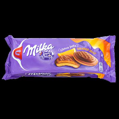 печенье Милка Choco Jaffa orange jelly 147 г 1 уп.х 24 шт.