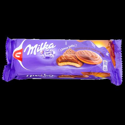 печенье Милка Choco Jaffa chocolate flavor mousse 128 г 1 уп.х 24 шт.