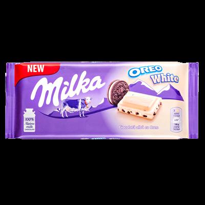шоколад Милка Oreo White 100 г 1 уп.х 22 шт.