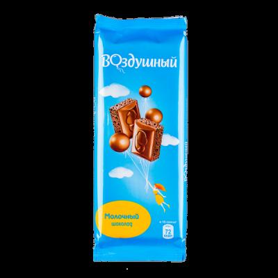 шоколад Воздушный Молочный 85 г 1 уп.х 20 шт.
