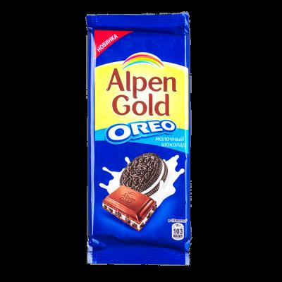 шоколад Альпен Гольд Орео 95 г 1уп.х 19 шт.